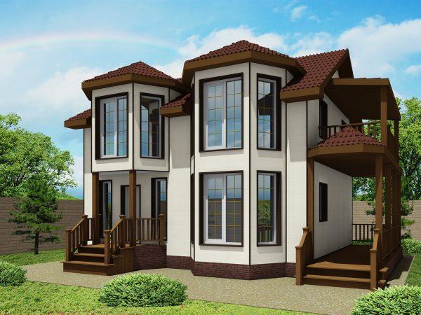 Проект ЭН-04 с высокими окнами