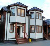 Каркасный дом с 2 эркерами, балкном, террасой