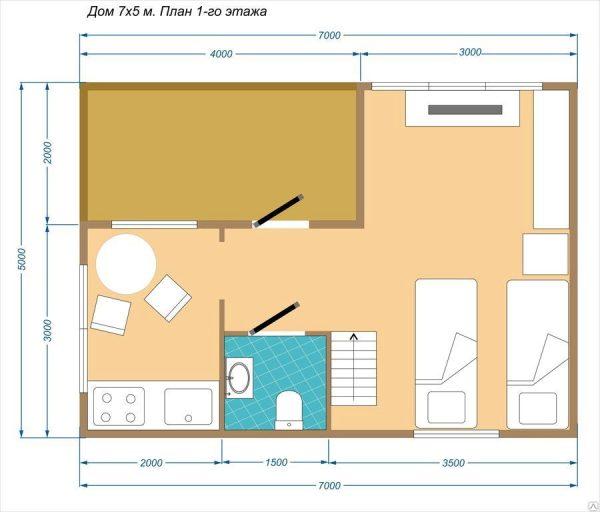 План первого этажа проекта Рандеву