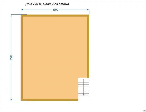 План второго этажа проекта Рандеву