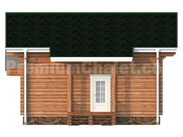 Задний фасад проекта Строгино S
