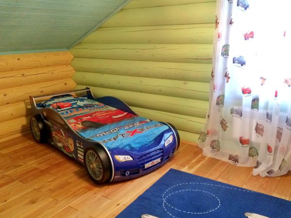 Детская комната в доме по проекту Синдика