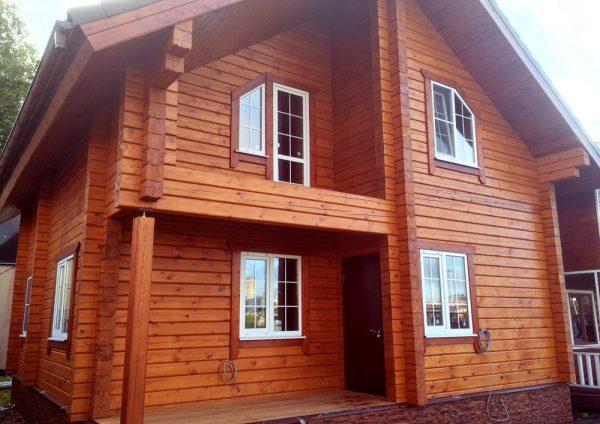 Дом из профилированного бруса Оптима