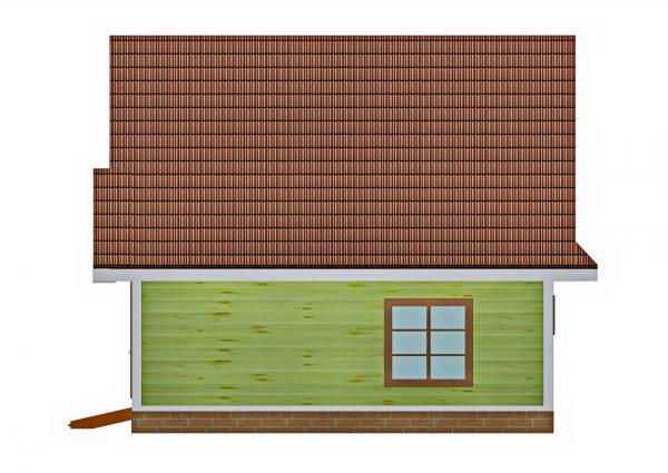 Задний фасад проекта Сказка