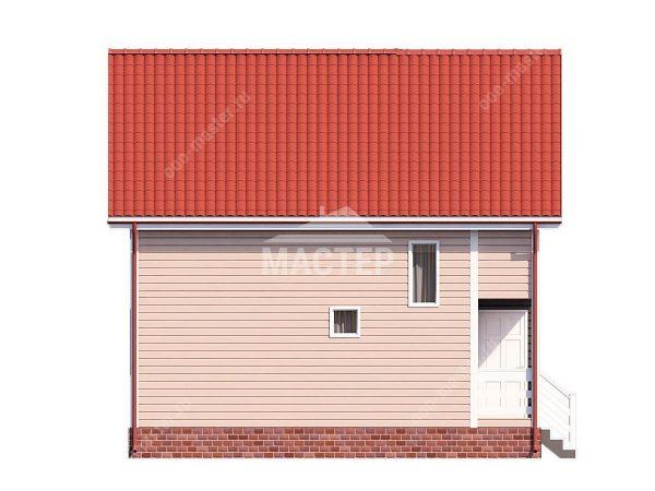 Левый фасад проекта Фаворит