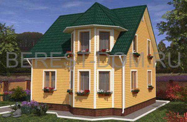 Дом по каркасной технологии Альпина-1