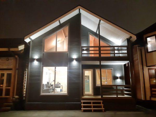 Выставочный дом компании Дачный рай в Строгино