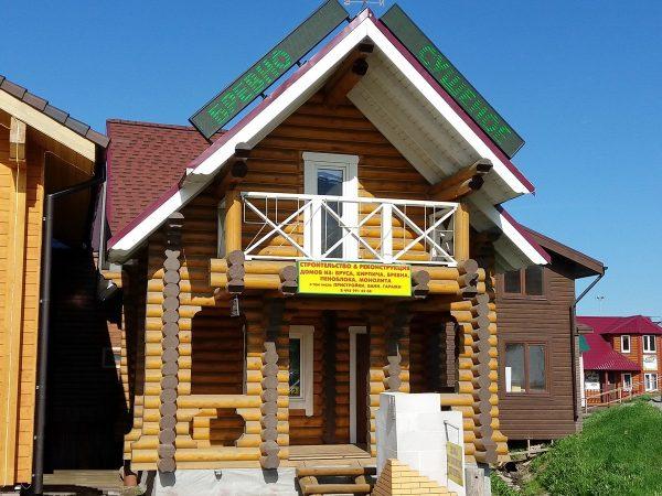 Дом Д-12 на выставке в Строгино (65-ый км МКАД)