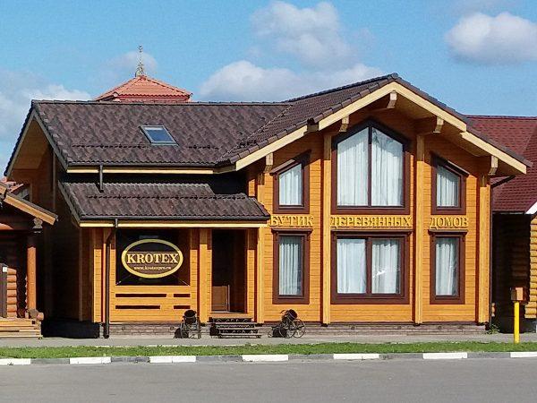 Дом из клееного бруса COMODO by KROTEX