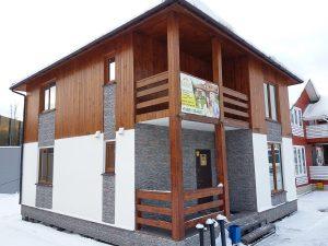 Дом Д-16/27 на выставке в Строгино (65-ый км МКАД)
