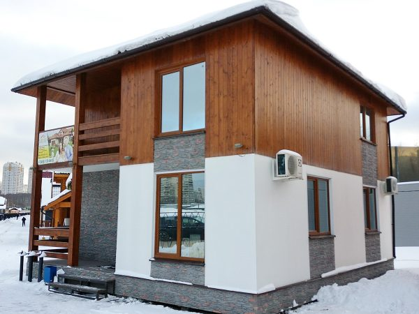 Дом из СИП площадью 144 м2 от СК-Барин