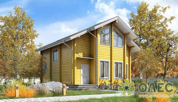 Визуализация фасада дома Строгино от завода ОЛЕС