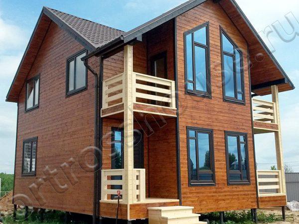 Готовый каркасный дом ФОРТ-143