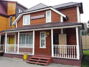 Каркасный дом компании Русский Мастер в Строгино