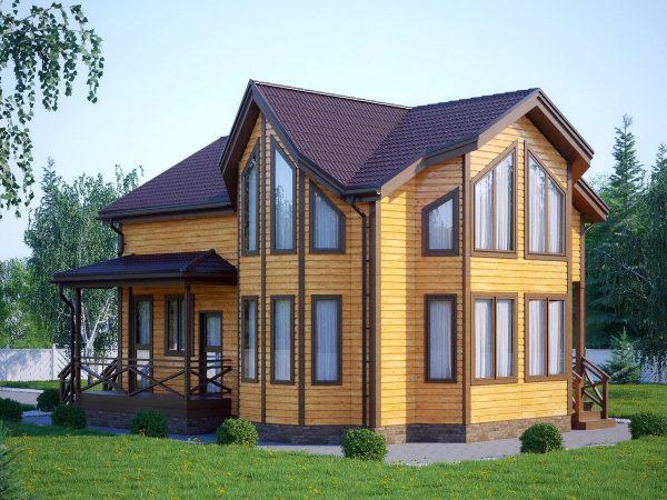 Проект: загородный дом 1 от компании МОРОЗ
