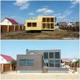 Облицовка фасада вместе со строительсвом дома