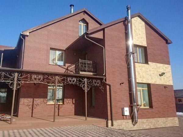 Фасадные панели NICHIHA для каркасного дома