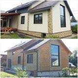 Замена фасада каркасного дома