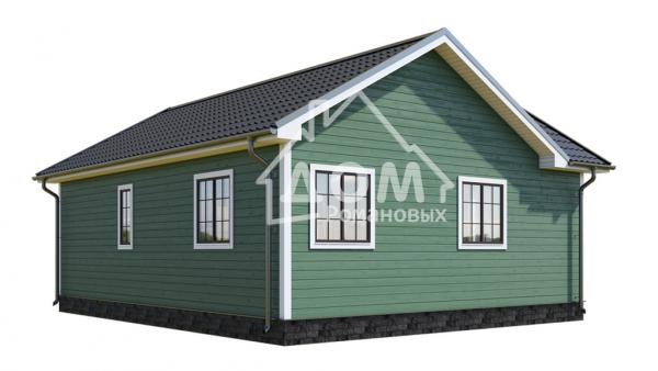 Обратный фасад Зеленый Дом Романовых