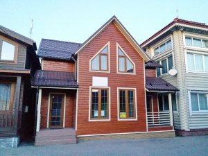Каркасный дом на продажу с выставке в Строгино