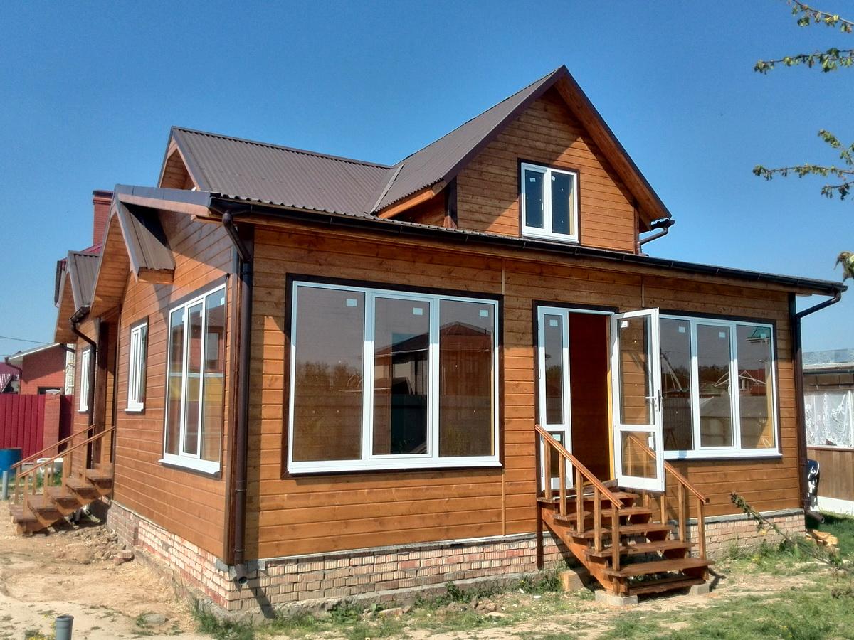 закрытая веранда к деревянному дому проекты фото