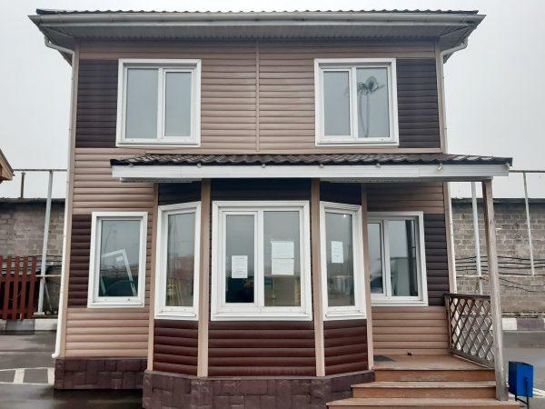 Продажа каркасного дома Д-18.4 с выставки Синдика в Строгино