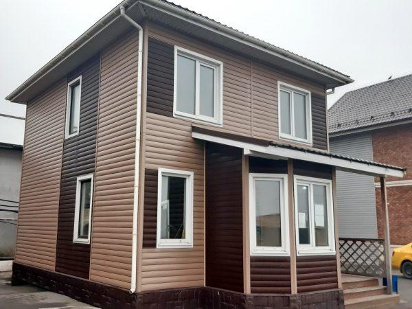 Продажа выставочного образца каркасного дома Д-18.4 в Строгино